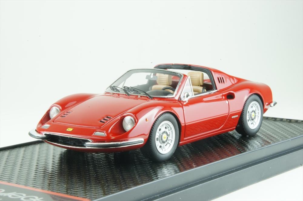 BBR1/43 フェラーリ ディーノ 246 GTS 1972 レッド 完成品ミニカー BBRC54A