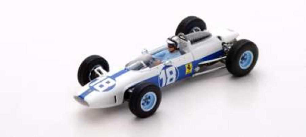 ルックスマート1/43 フェラーリ 156 No.18 1964 F1 メキシコGP 6位 P.ロドリゲス 完成品ミニカー LSRC09