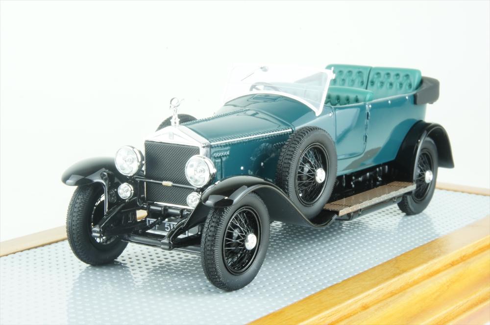 イラリオ1/43 ロールスロイス シルバーゴースト トーピード ミリオンガイエット 1924 エトレ ブガッティ パーソナルカー 完成品ミニカー IL43121