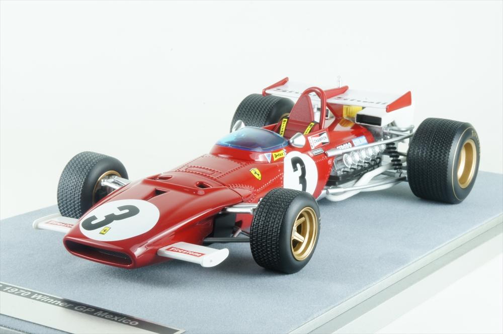 テクノモデル1/18 フェラーリ 312B No.3 1970 F1 メキシコGP 完成品ミニカー TM18-64D