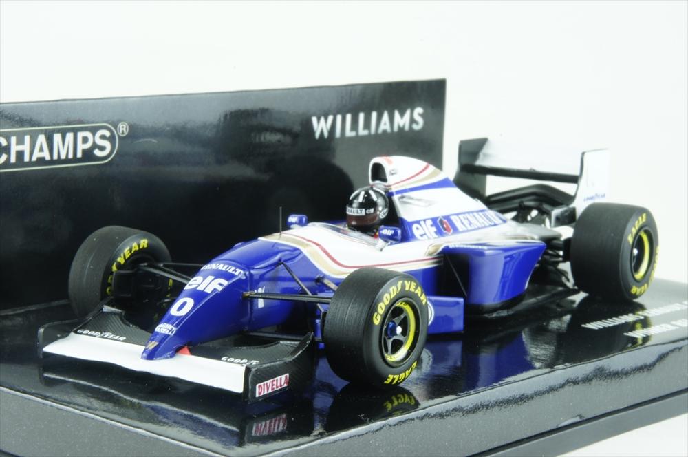 ミニチャンプス1/43 ウィリアムズ ルノー FW16 1994 F1 ベルギーGP D.ヒル 完成品ミニカー 417940400