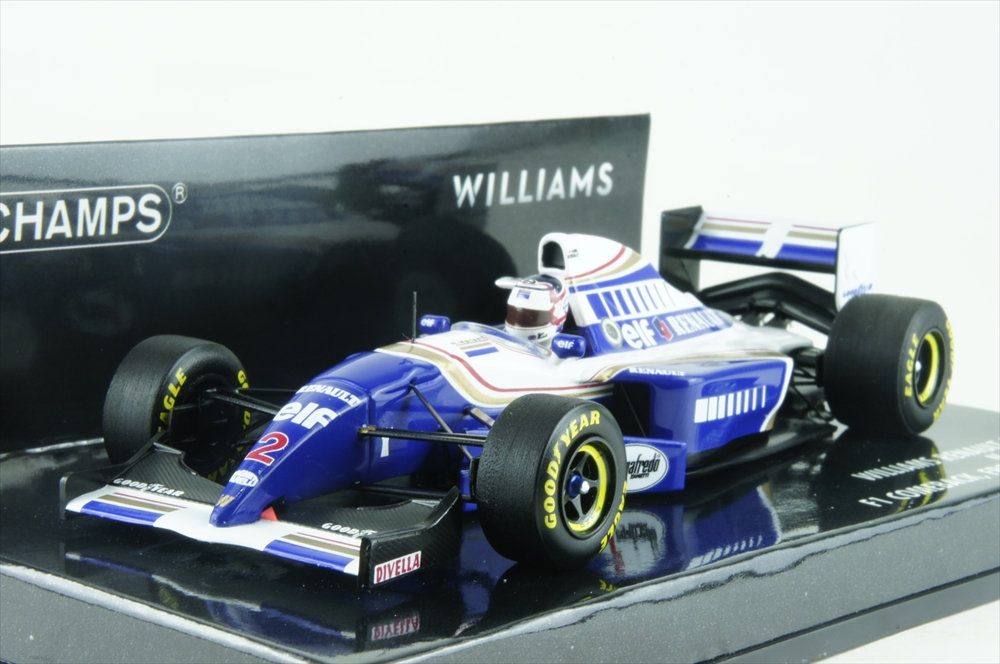 大注目 ミニチャンプス 417940702 ミニチャンプス 1 N.マンセル/43 ウィリアムズ ルノー FW16B 1994 F1 フランスGP N.マンセル 完成品ミニカー 417940702, 初日プリントセンター:60dbda32 --- lebronjamesshoes.com.co