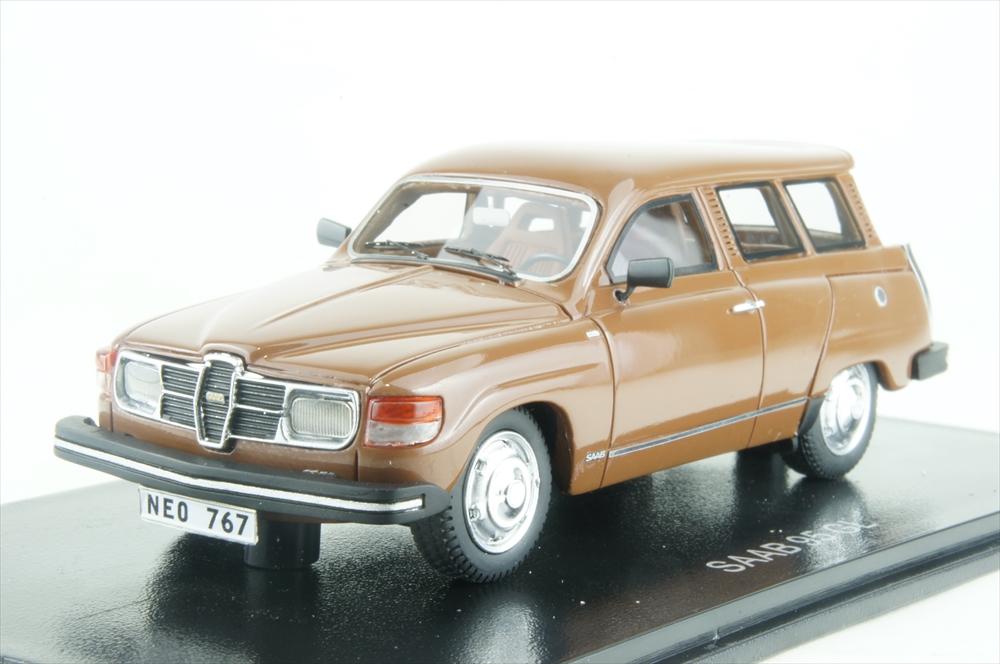 ネオ1/43 サーブ 95 GL ブラウン 1979 完成品ミニカー NEO43767
