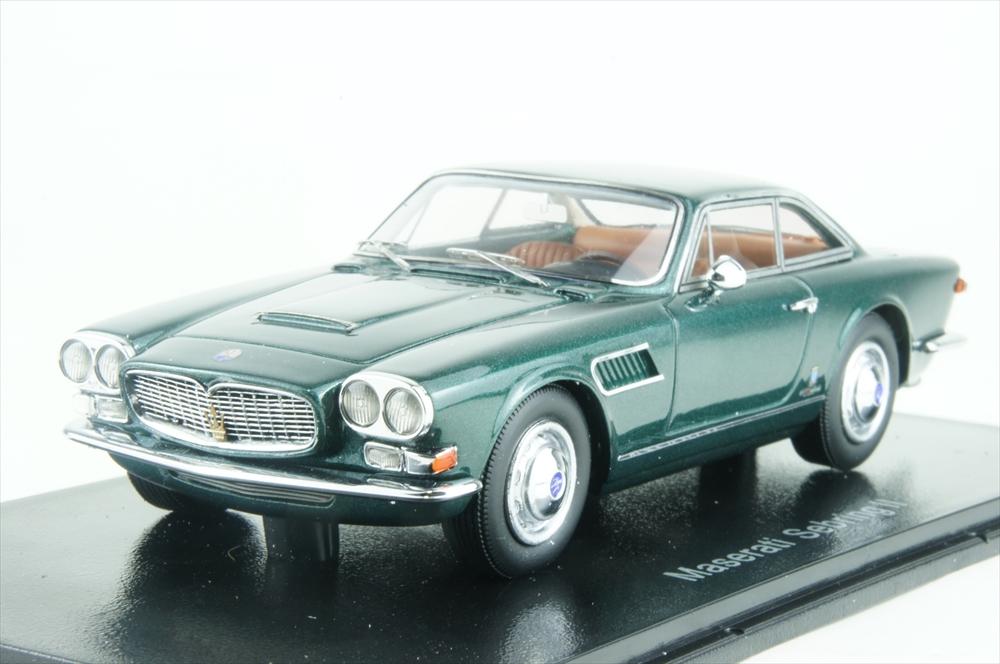 ネオ1/43 マセラティ セブリング シリーズ II 1963 グリーン 完成品ミニカー NEO45644