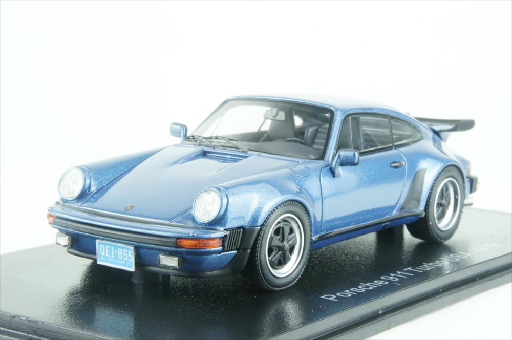 ネオ1/43 ポルシェ 911 (930) ターボ アメリカ 1979 ブルー 完成品ミニカー NEO43259