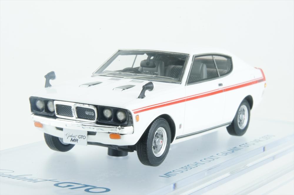 エニフ1/43 三菱 コルト ギャラン GTO MR 1970 ロッキーホワイト 完成品ミニカー ENIF0045