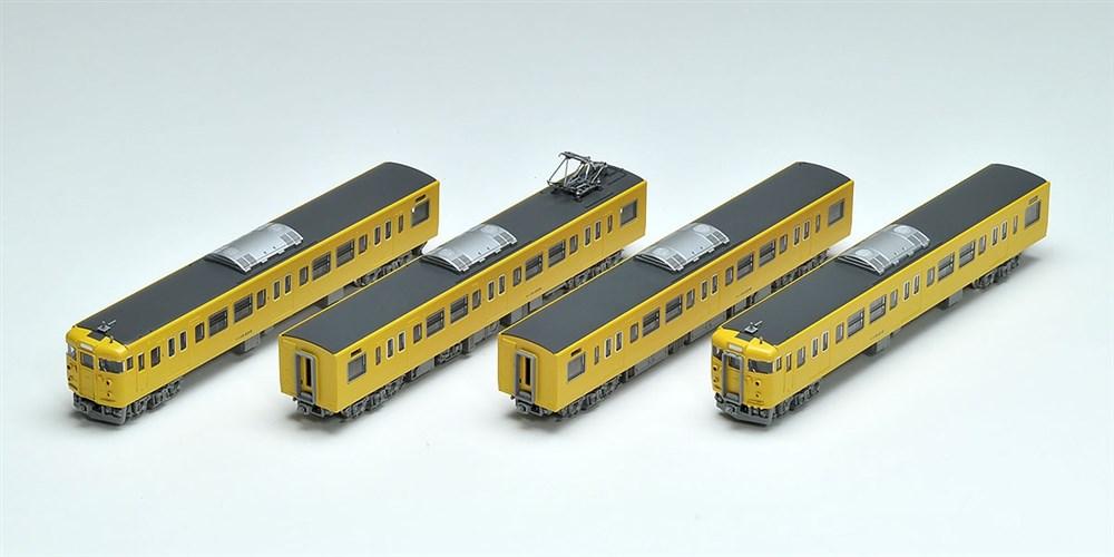 トミックスNゲージ JR 115-2000系近郊電車(JR西日本40N更新車・黄色)増結セット 鉄道模型 98287