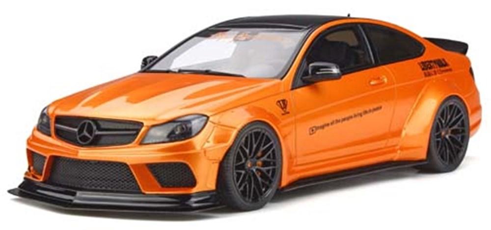 GTスピリット1/18 LB-ワークス C63 オレンジ 完成品ミニカー GTS215