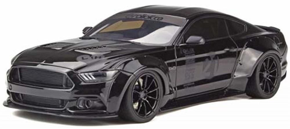 GTスピリット1/18 フォード マスタング by TOSHI ブラック 完成品ミニカー GTS061
