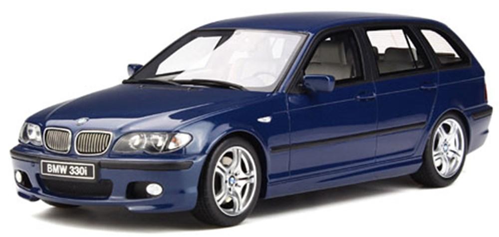 オットーモビル1/18 BMW 330i ツーリング Mパッケージ (E46) ブルー 完成品ミニカー OTM251