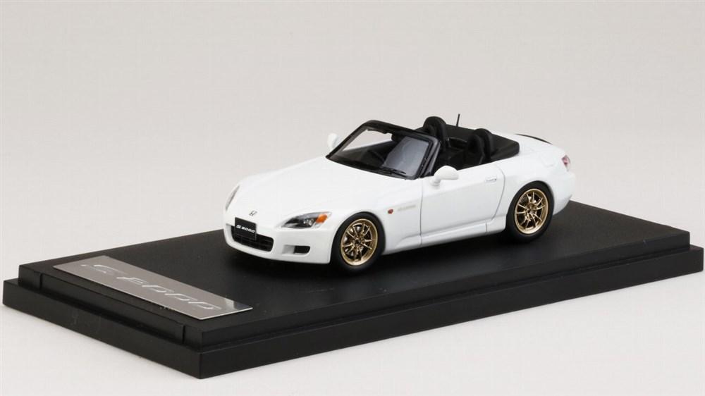 【予約】 MARK431/43 ホンダS2000 (AP1) 1999 無限 MF10 L 装着車 グランプリホワイト 完成品ミニカー PM4397MW