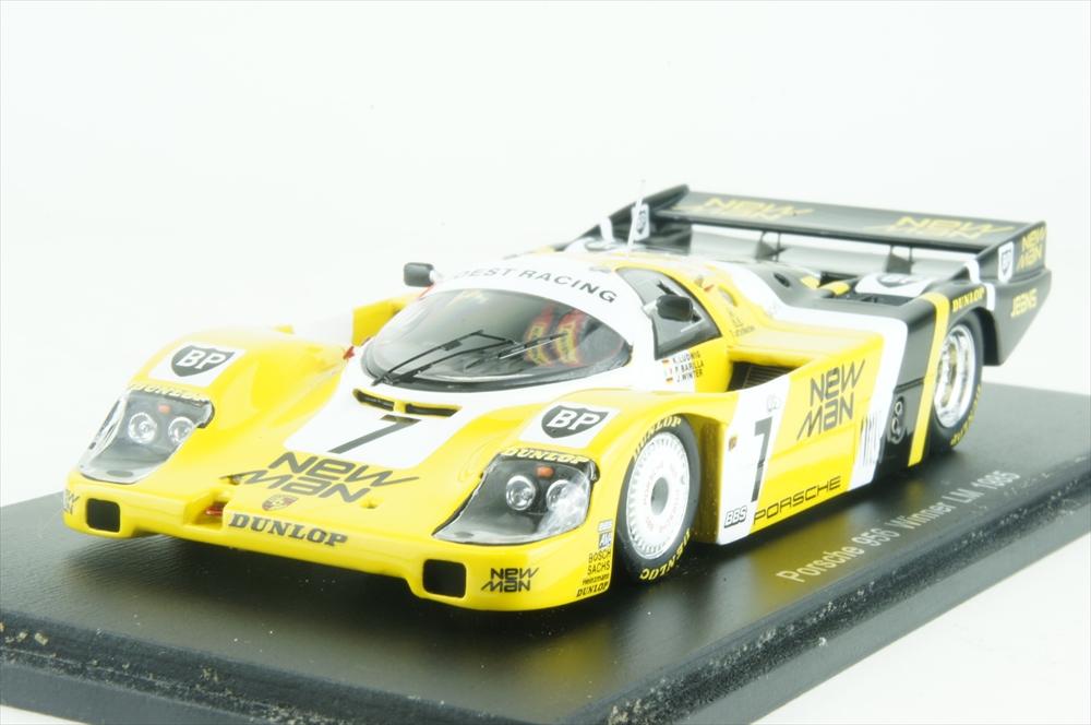 ミニカー 1/43 スパーク Spark (43LM85) ポルシェ 956LH 1985年 ル・マン24時間耐久レース 優勝 No.7 K.Ludwig/P.Barilla/J.Winter
