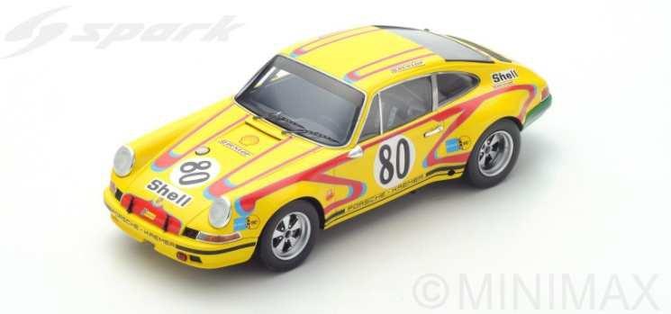 【予約】 スパーク1/18 ポルシェ 911 S No.80 1972 ル・マン24時間 J.フィッツパトリック/E.クレマー 完成品ミニカー 18S213