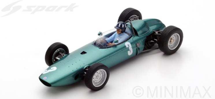 【予約】 スパーク1/18 BRM P57 No.3 1962 F1 南アフリカGP ワールドチャンピオン G.ヒル 完成品ミニカー 18S225