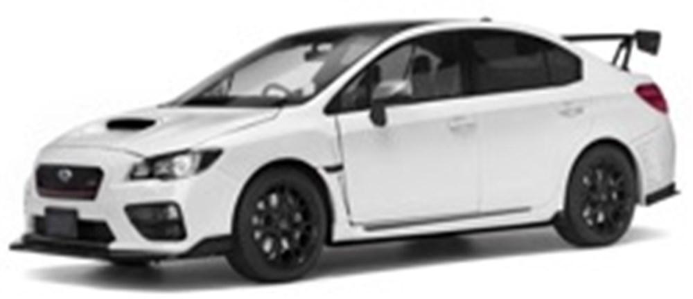サンスター 1/18 スバル S207 NBR チャレンジパッケージ クリスタルホワイトパール 完成品ミニカー 5554