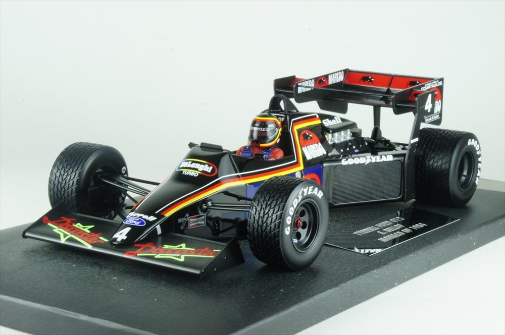 ミニチャンプス1/18 ティレル フォード012 1984 F1 モナコGP S.ベルロフ 完成品ミニカー 117840004
