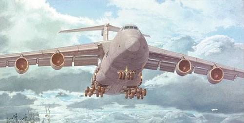 【予約】 ローデン1/144 米ロッキードC-5M近代改装型スーパーギャラクシー戦略輸送機 スケールプラモデル 014T332