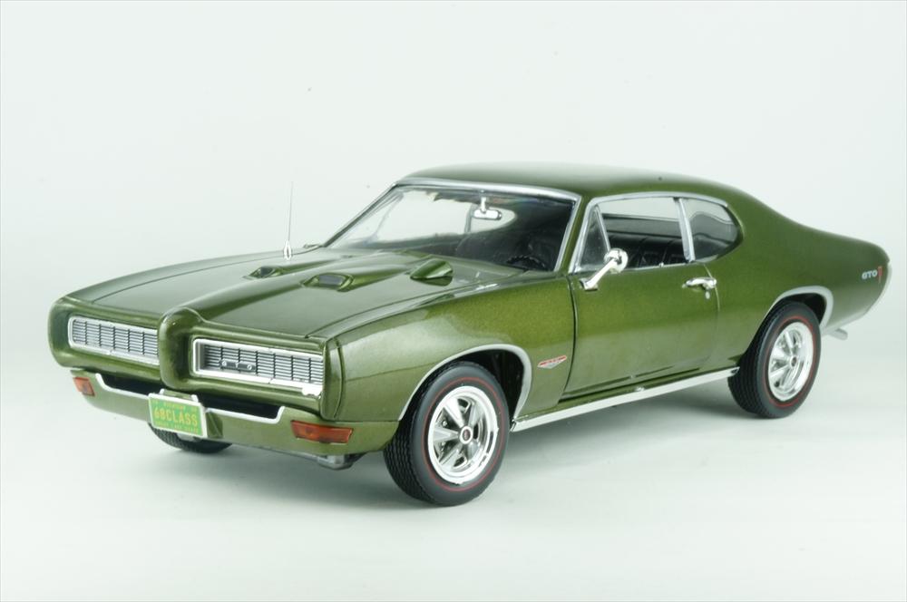 アメリカンマッスル 1/18 1/18 グリーン ポンティアック GTO ハードトップ 1968 完成品ミニカー 50thアニバーサリー グリーン 完成品ミニカー AMM1128, ホームセンターのECジャングル:c5fa9008 --- jphupkens.be
