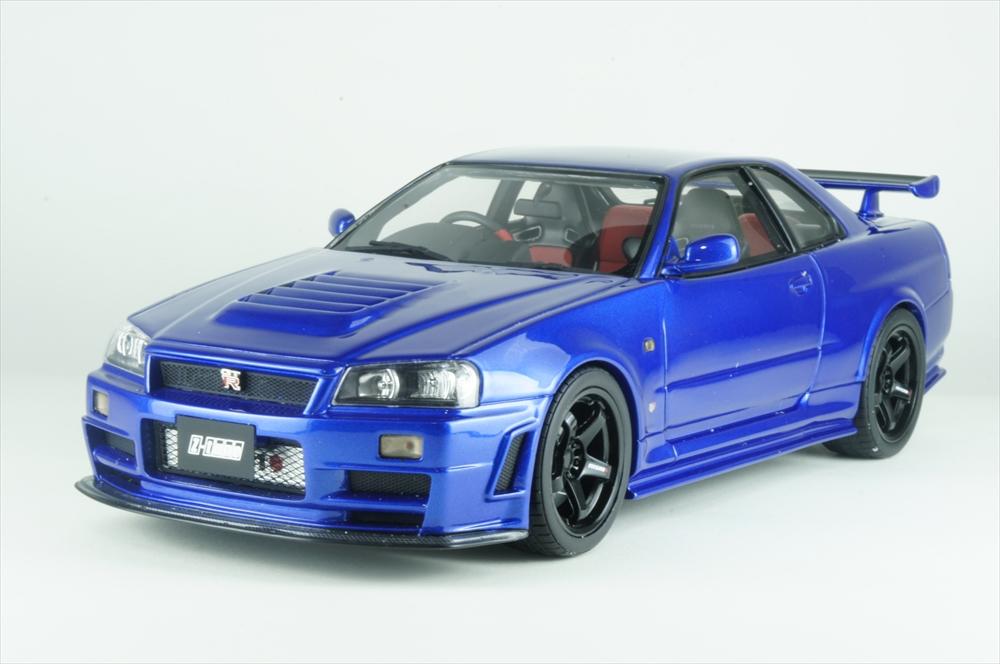 定番  オットーモビル1 ニスモ/18 R34 ニスモ R34 GT-R Z-tune ブルー GT-R 完成品ミニカー OTM743, サンダシ:e6a322f6 --- fabricadecultura.org.br