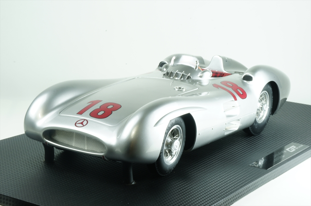 トップマルケス1/12 メルセデス ベンツ No.18 1955 W196R ストリームライン 完成品ミニカー GRP12007A
