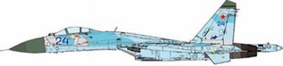 JCW 1/72 SU-27 ロシア空軍 582nd IAP ポーランド 1992 完成品 艦船・飛行機 JCW-72-SU27-005