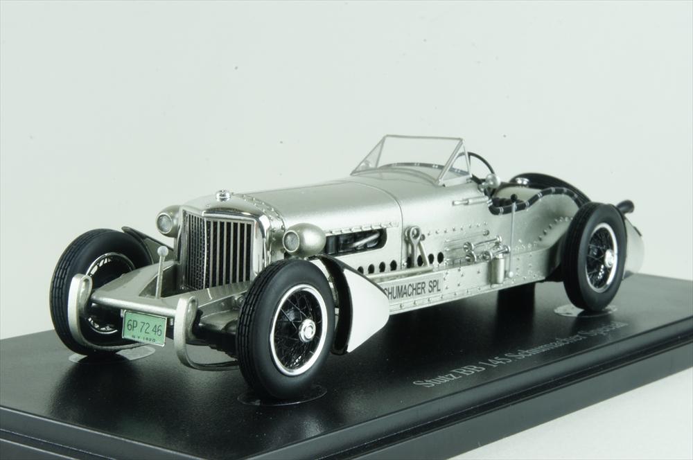 オートカルト1/43 スタッツ BB 145 シューマッハスペシャル 1928 アメリカ シルバー 完成品ミニカー 02016