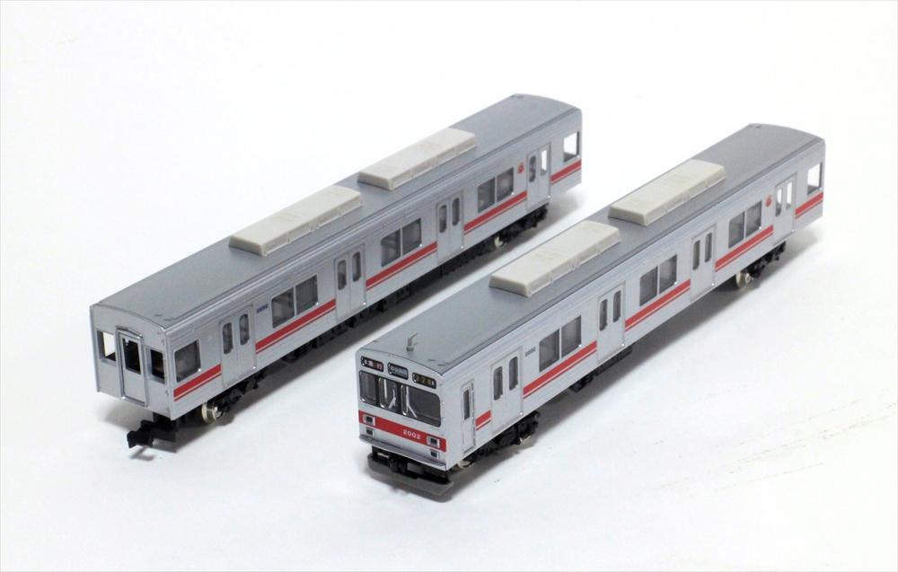 グリーンマックスNゲージ 東急2000系(田園都市線・2002編成・方向幕時代)基本6両編成セット(動力付き) 鉄道模型 30740