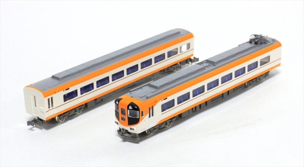 グリーンマックスNゲージ 近鉄12410系(12414編成・新塗装)4両編成セット(動力付き) 鉄道模型 30744