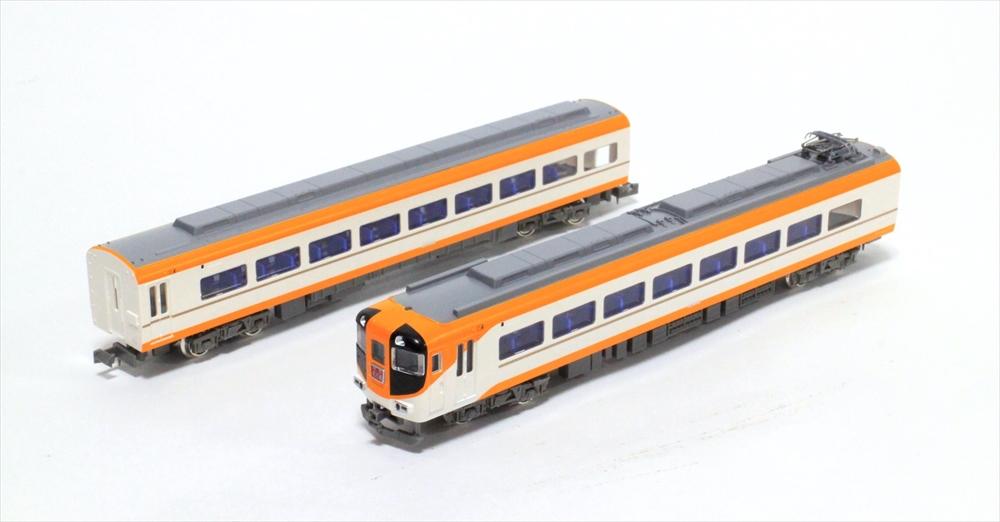 グリーンマックスNゲージ 近鉄12410系(12415編成・新塗装)4両編成セット(動力付き) 鉄道模型 30745