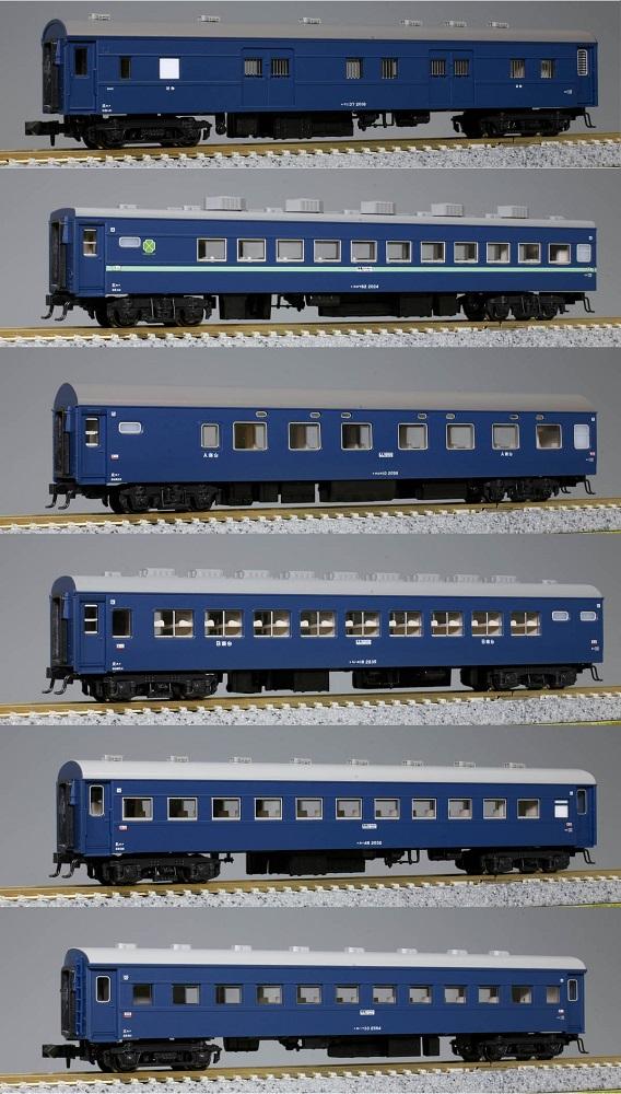 KATONゲージ 10系寝台急行「津軽」 6両基本セット 鉄道模型 10-879