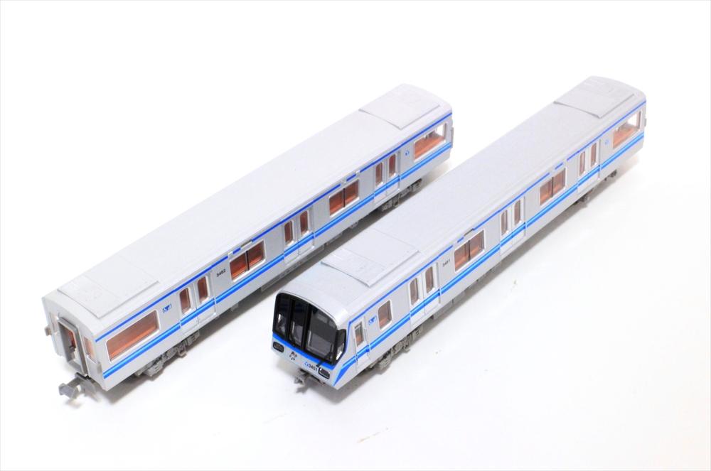 マイクロエースNゲージ 横浜市営地下鉄3000形・3000R編成 6両セット 鉄道模型 A9763