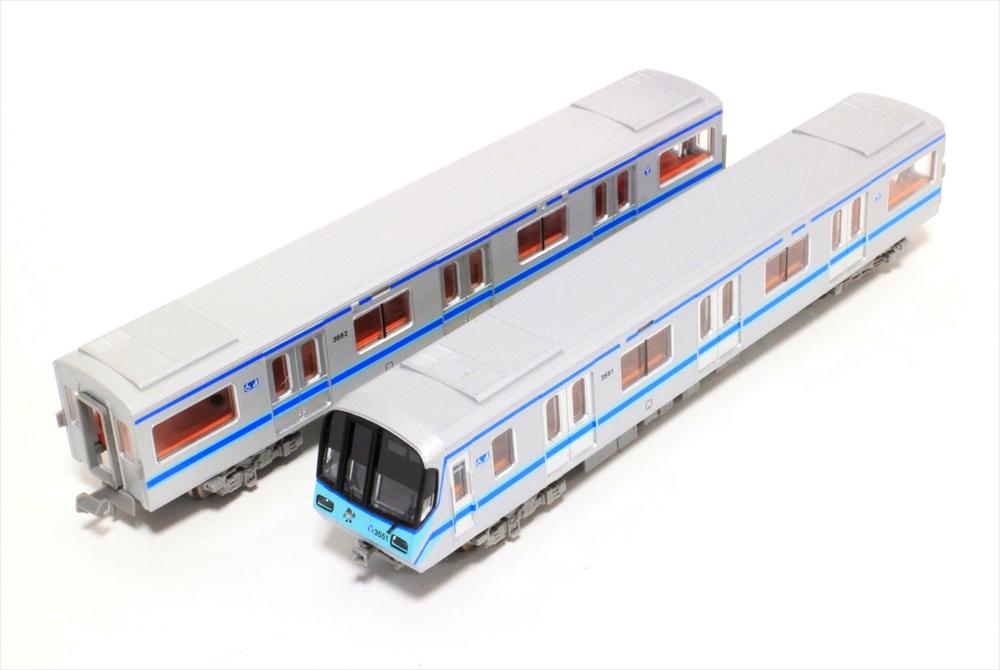 マイクロエースNゲージ 横浜市営地下鉄3000形・3000S編成 6両セット 鉄道模型 A9764