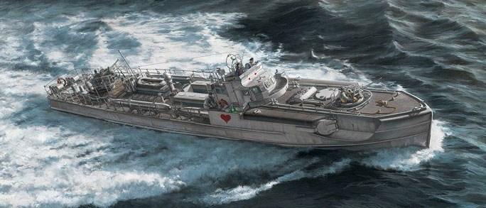 イタレリ1/35 ドイツ海軍魚雷艇 シュネルボート S-38 スケールプラモデル 37120