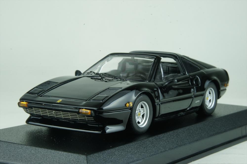 ベストモデル1/43 フェラーリ 308 GTS アメリカ仕様 1979 ブラック 完成品ミニカー BEST9712