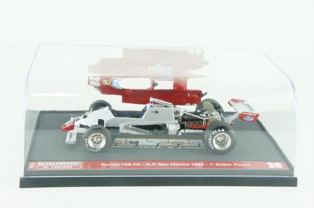 ブルム 1/43 フェラーリ 126C2 No.28 1982 F1 サンマリノGP 完成品ミニカー P013