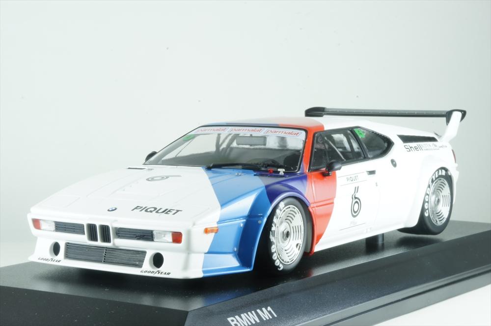 ディーラー別注1/18 BMW M1 プロカー モータースポーツ 1979 N.ピケ 完成品ミニカー 80432454788