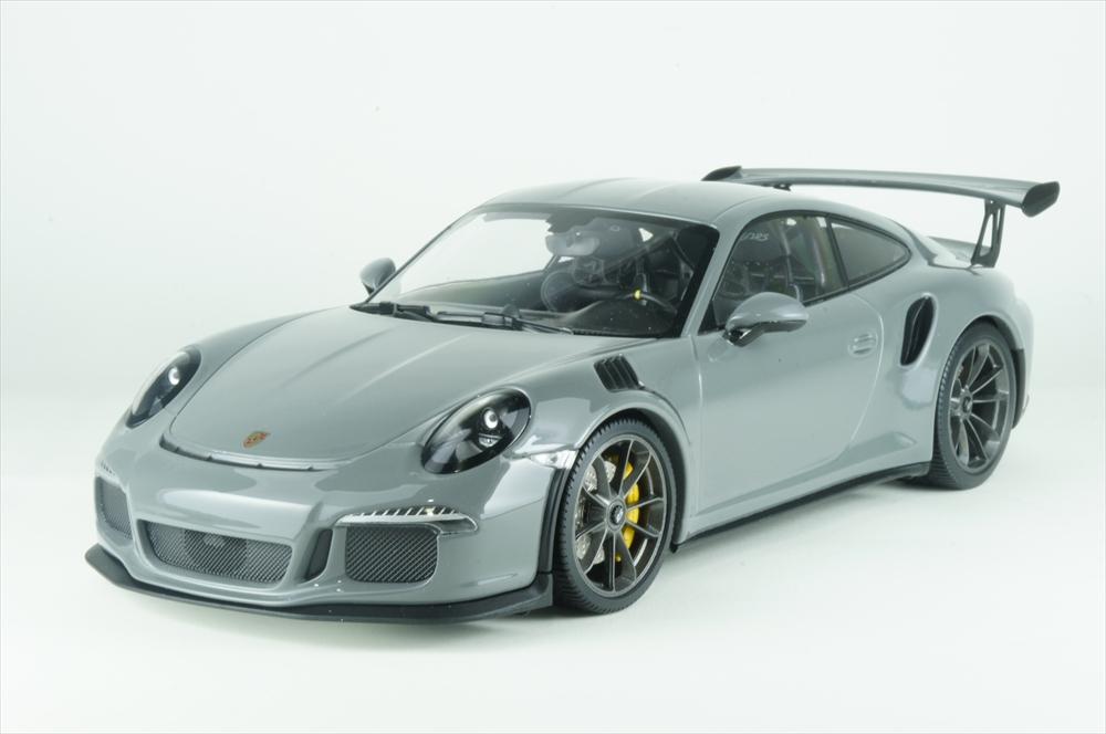 ポルシェ特注1/18 ポルシェ 911 GT3 RS エクススルーシブ チャイナグレー 完成品ミニカー WAX02100030