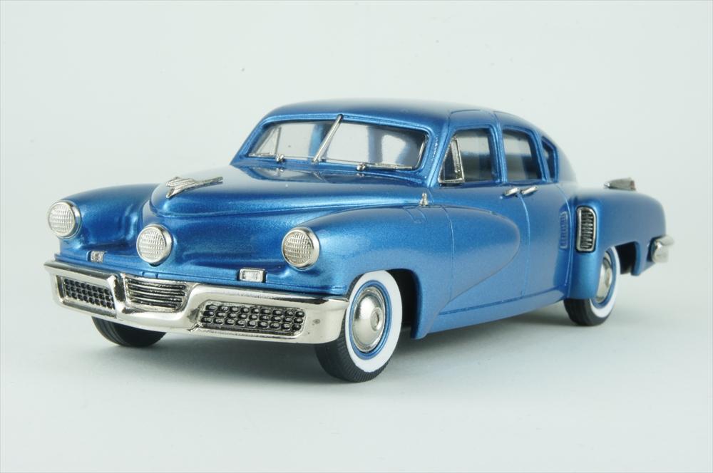 ブルックリン 1/43 タッカー トーピード リミテッドED 1948 メタブルー 完成品ミニカー BRK222c