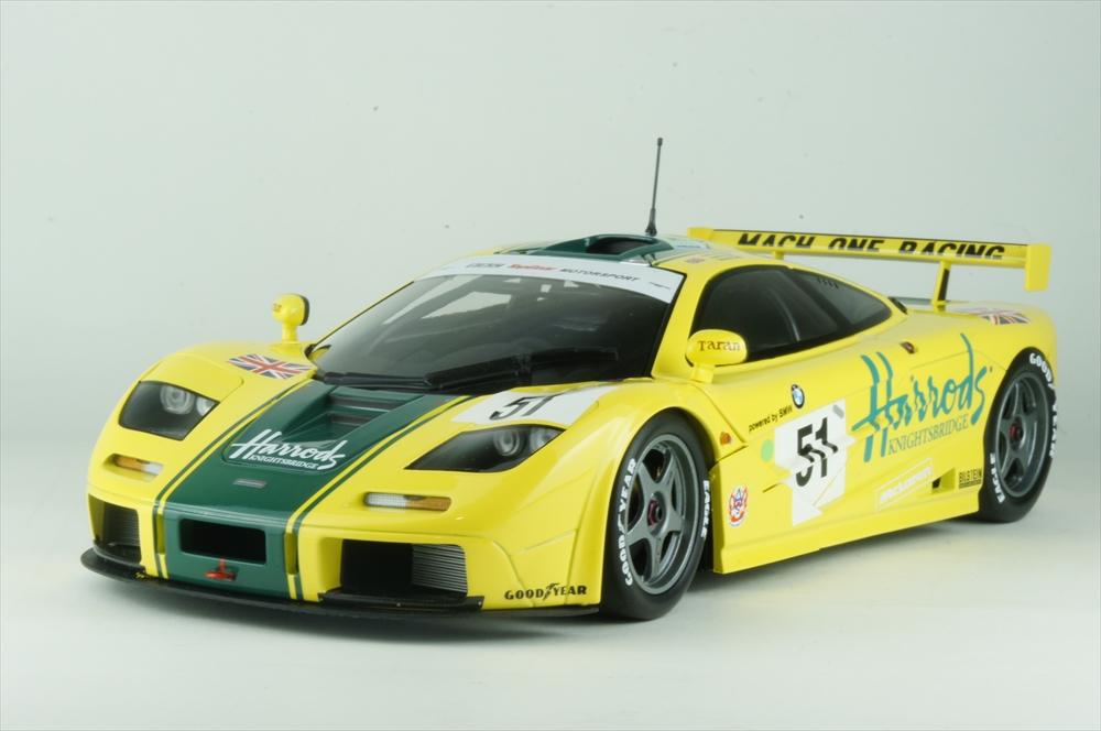 ミニチャンプス 1/18 マクラーレン F1 GTR ハロッズ 1995 ル・マン24時間 完成品ミニカー 530133551