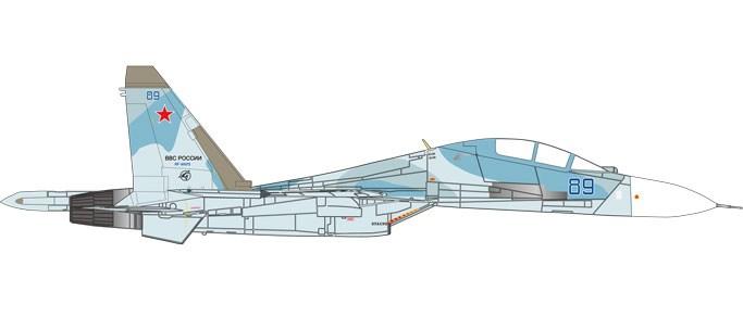 ヘルパウィングス 1/72 SU-30M2 ロシア空軍 第27混成親衛航空連隊 第38th 戦闘連帯 Belbek AB RF-95072/89 blue 完成品 艦船・飛行機 HE580311