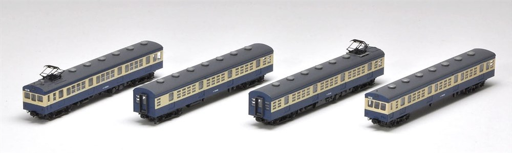 トミックスNゲージ 国鉄 72・73形通勤電車(御殿場線)セット 鉄道模型 92484
