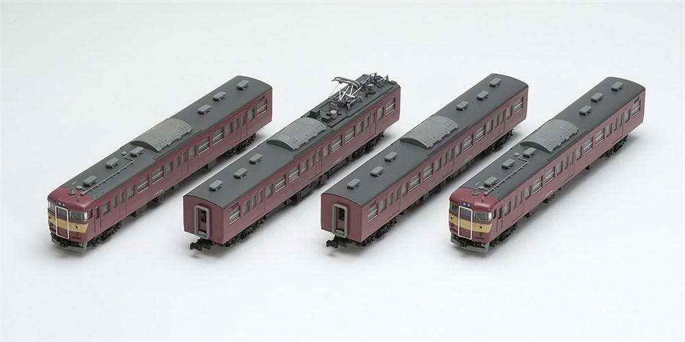トミックスNゲージ 国鉄 415系近郊電車(旧塗装)基本セット 鉄道模型 98296