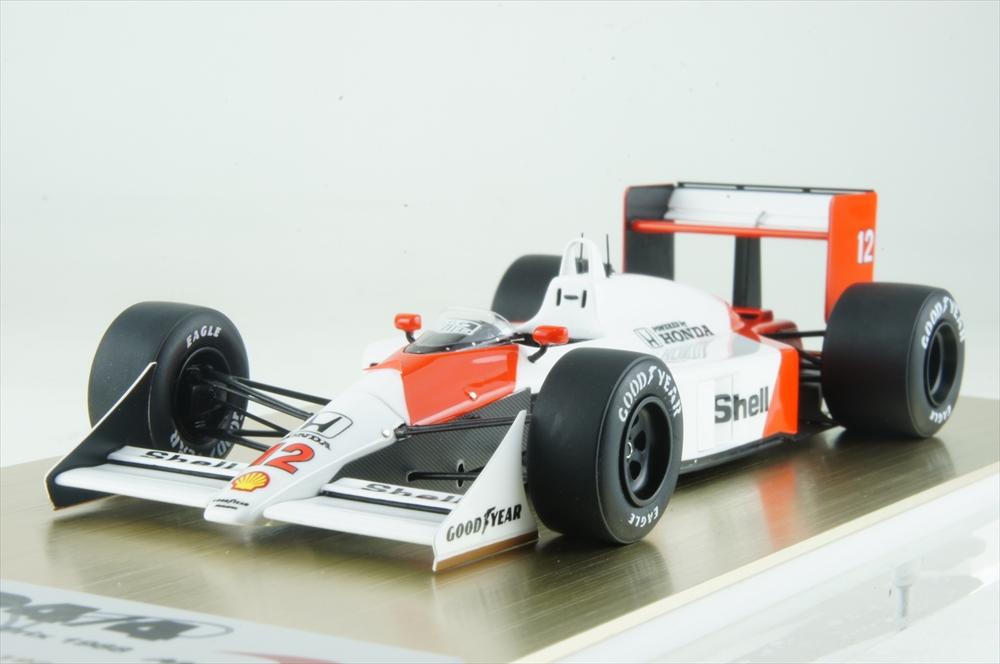 アイドロン 1/43 マクラーレン ホンダ MP4/4 1988 F1 日本GP ウイナー No.12 完成品ミニカー FE013A