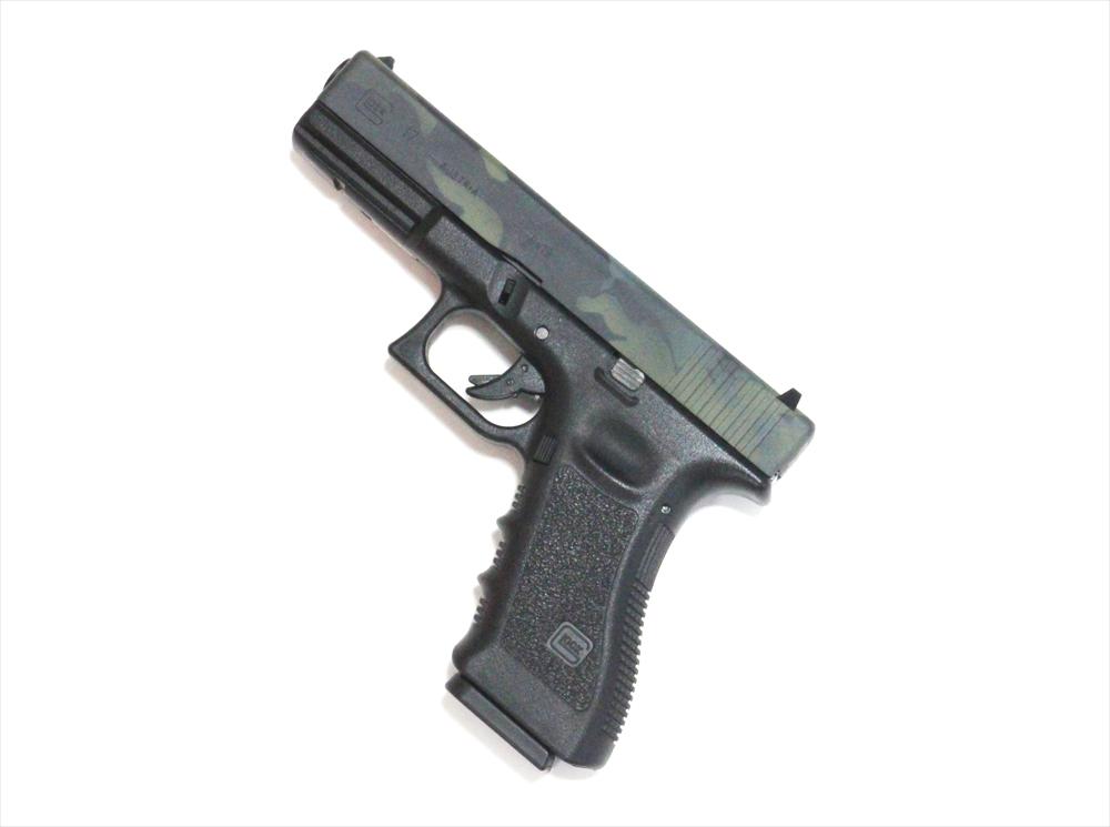 ライラクスエアガン 限定品 4Dプリント G17マルチカムブラック トイガン 4905702922789