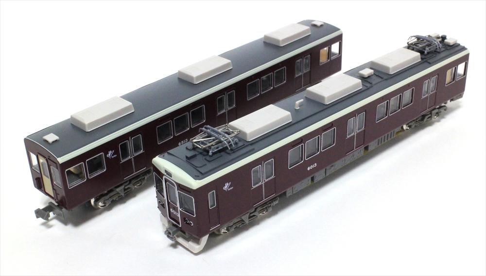 グリーンマックスNゲージ 阪急6000系宝塚線6013編成8両編成セット 動力付き 鉄道模型 30239