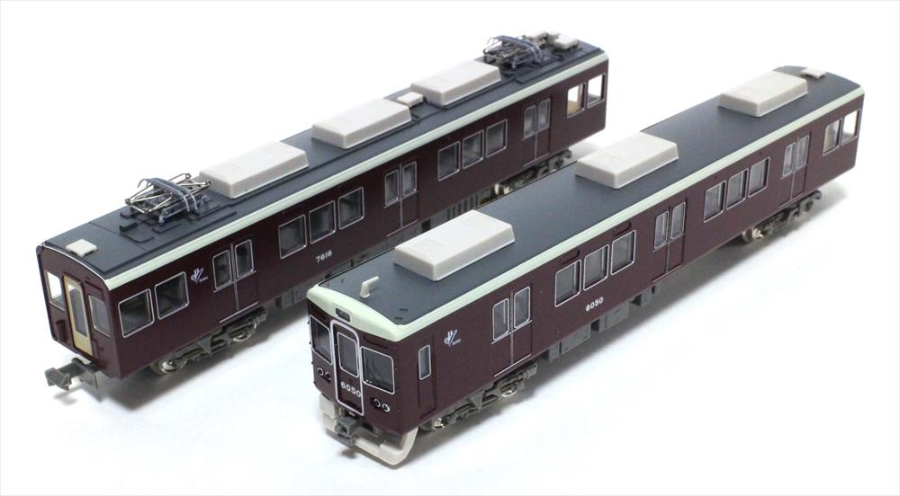 グリーンマックスNゲージ 阪急6000系神戸線6050編成8両編成セット 動力付き 鉄道模型 30240