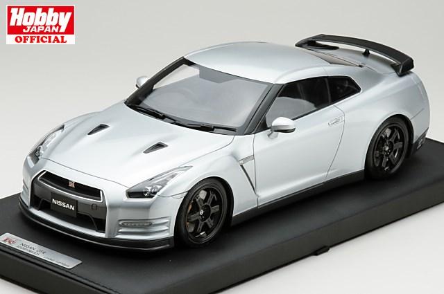 1/18 マーク MARK ニッサン GT-R(R35) エゴイスト 2013年式 アルティメイトメタルシルバー 限定50台 (PM1803S)