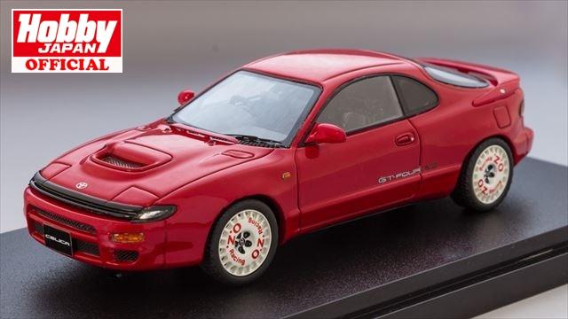 1/43 MARK43 (PM4336SR) トヨタ セリカ GT-FOUR RC (ST185) スーパーレッドII ディッシュタイプスポーツホイール 送料無料