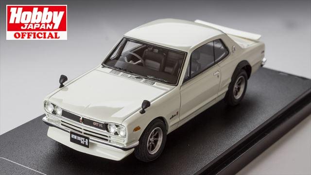 1/43 MARK43 (PM4335SW) ニッサン スカイライン GT-R (KPGC10) スポーツホイール ホワイト(カスタムカラー仕様) 送料無料
