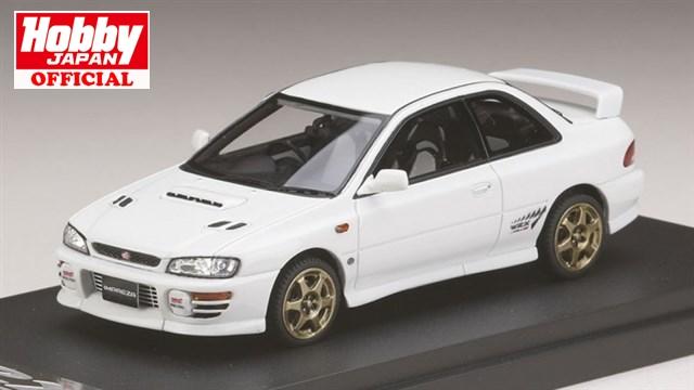 MARK43 (PM4357SW) 1/43 スバル インプレッサWRX タイプR Sti Ver.1997(GC8) スポーツホイール フェザーホワイト 送料無料